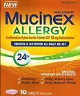 2~NEW Mucinex Allergy 24 Hour 180 mg 10 Tablet each Package~ Non-Drowsy - http://health-beauty.goshoppins.com/over-the-counter-medicine/2new-mucinex-allergy-24-hour-180-mg-10-tablet-each-package-non-drowsy/