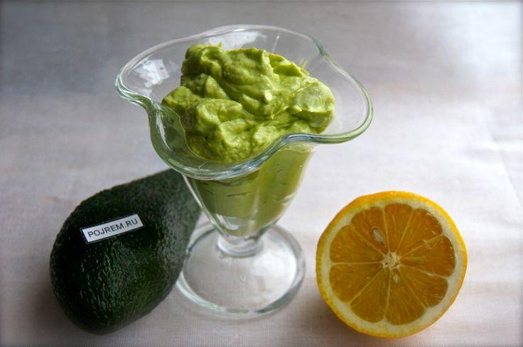 мусс из авокадо
