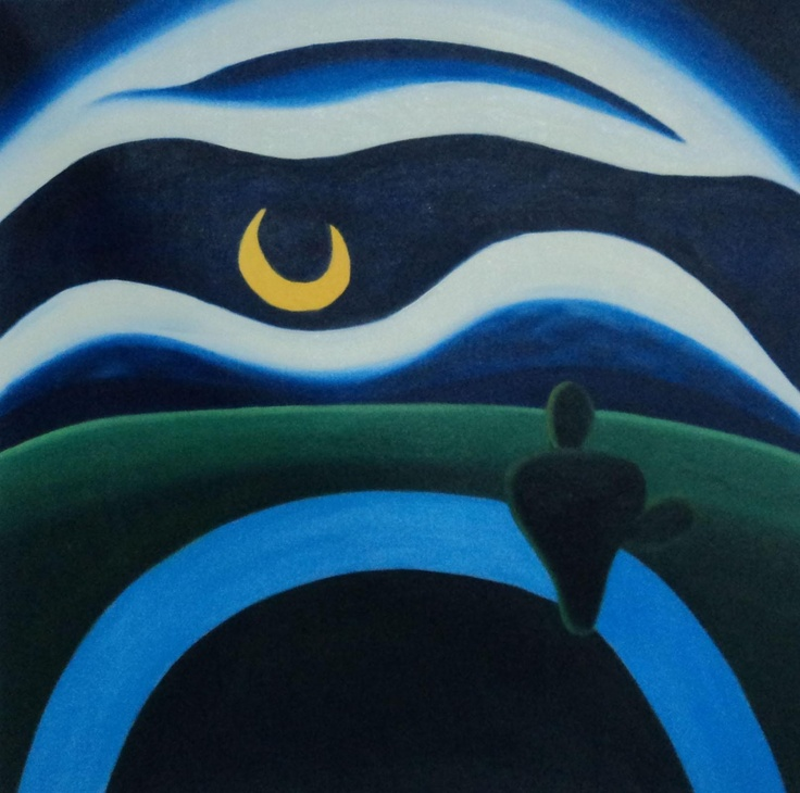 Moon Lua by Tarsila do Amaral