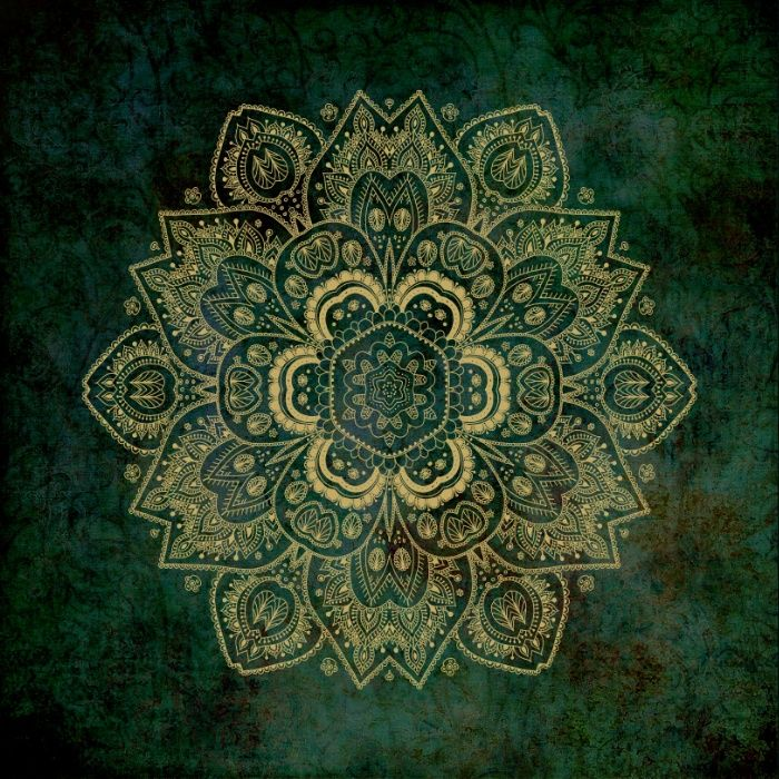 Buy ultra soft microfiber Duvet Covers featuring Golden Flower Mandala on Dark Green by Lena Photo Art. Hand sewn and meticulously crafted, these lightweight Duvet Cover vividly feature your favorite designs with a soft white reverse side.