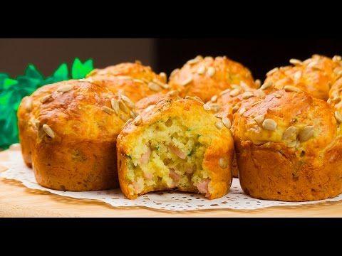 Brioșe aperitiv cu cașcaval și șuncă – sățioase, aromate și foarte delicioase! - Savuros.TV