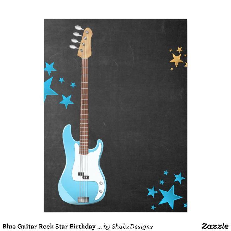 The 25+ best Rock star birthday party ideas on Pinterest | Rock ...