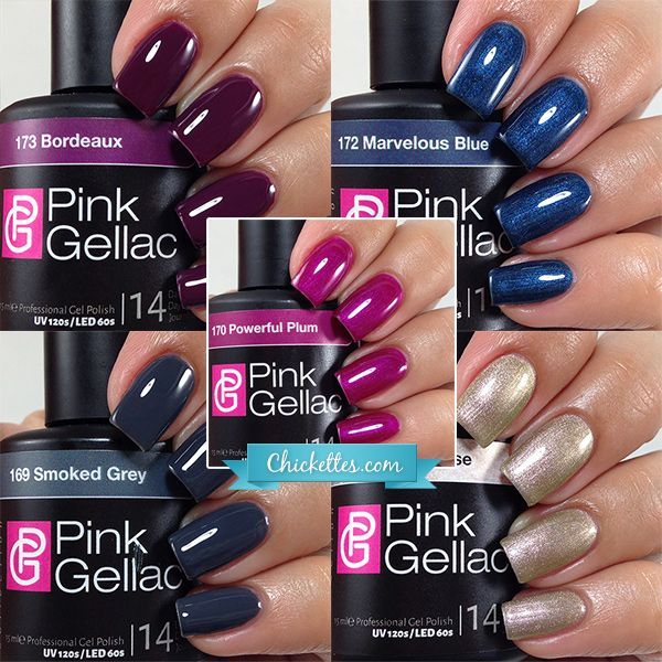 Pink Gellac Majestic Collection - Fall 2015