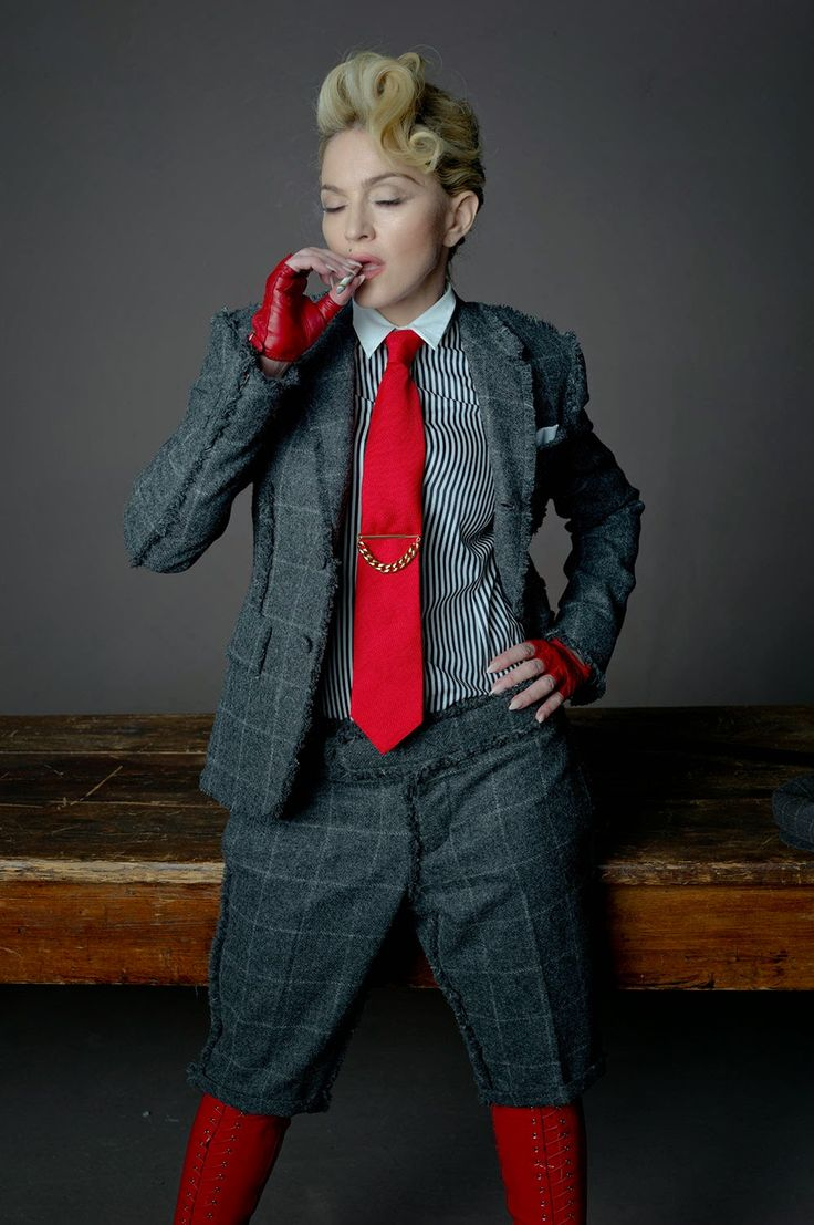 Madonna L'uomo vogue 2014