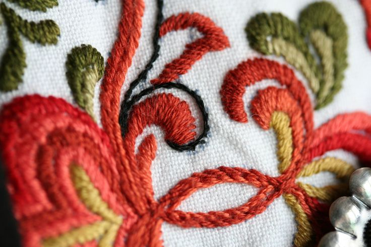 Telemark's bunad details | Flickr - Photo from Alessandro Rossini