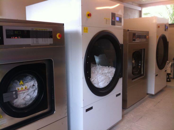 FAGOR Laundry machines at Hotel CORISSIA in Crete.