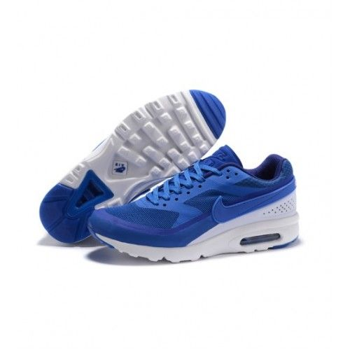 Nike Pánské - Levny Nike Air Max 91 Pánské Běžecké Boty Modrý Bílý 0828
