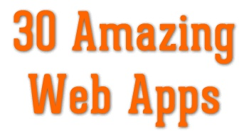 30 Amazing Free Online Web Applications