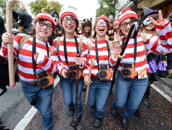 Coordination also makes it harder to get lost in a crowd. | 15 Ways To Win Halloween With A Group Costume