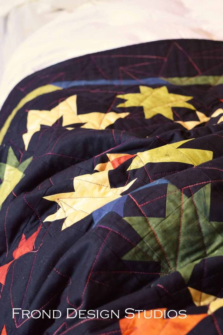 Stars on the Tarmac Quilt - Delve MIY