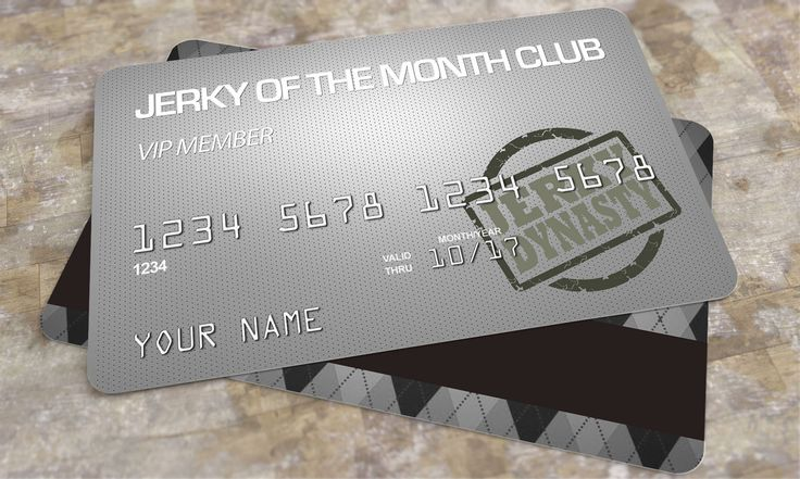 Exotic Jerky Club Membership