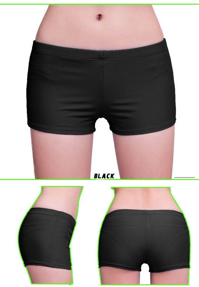 Short Swimming Trunks Swimwear Women bottom swimming trunks