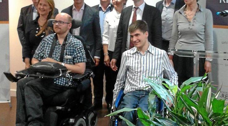 44 000 € pour les étudiants handicapés, à Rennes 1 L'université de Rennes 1 a signé, hier, une convention de partenariat avec sept grandes entreprises à rayonnement mondial, en vue d'approfondir l'insertion de ses étudiants en situation de handicap. Les...