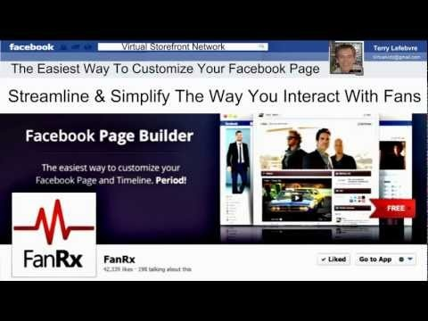 "The first of a series of tutorials on Facebook Ecommerce.Exploring and reviewing the best applications for creating Facebook virtual stores. In this review and tutorial we introduce and explore the FanrX app.  ""The easiest way to customize your Facebook Page and Timeline...Period"" The fanrx developers goal is to streamline and simplify the way yo..."
