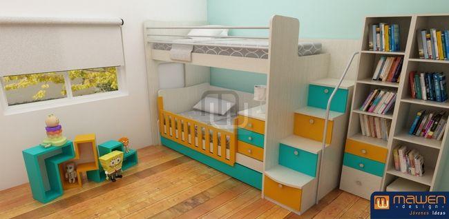 muebles, Cunas funcionales, Dormitorios infantiles, Muebles de