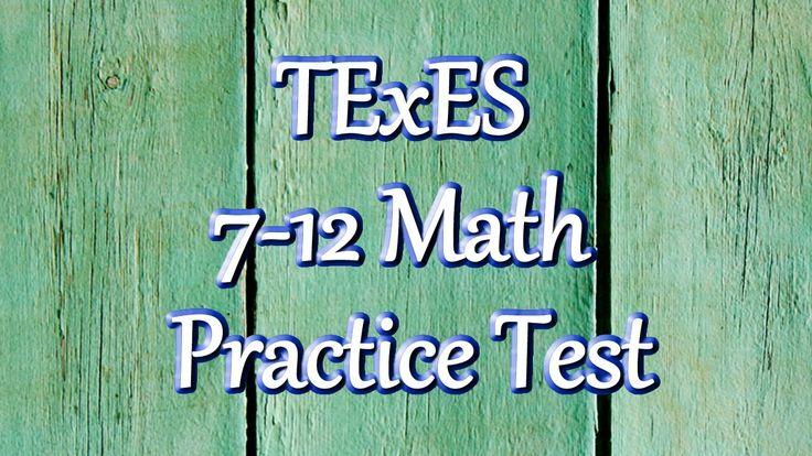 TExES Mathematics 7-12 (235): Practice & Study Guide ...