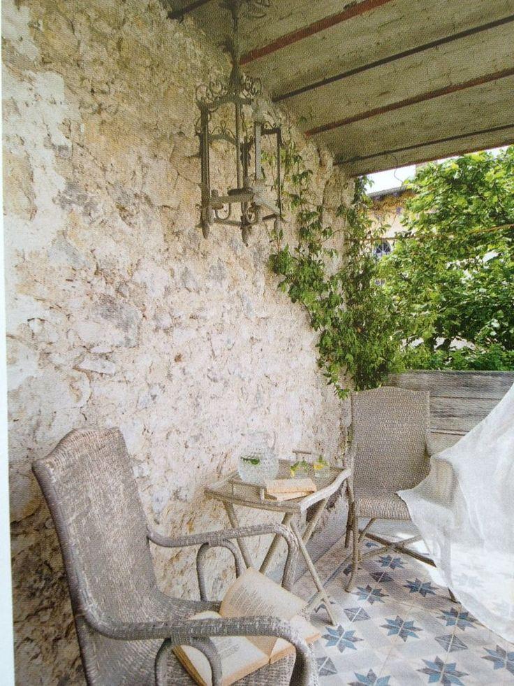 french rustic stone | stone houses... - Velvet & Linen