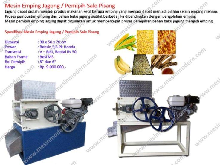Jual Mesin Pemipih Emping Jagung Sale Pisang