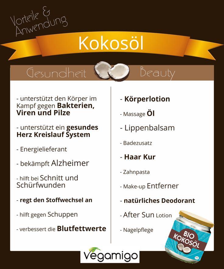 Kokosöl - Vorteile und Anwendung
