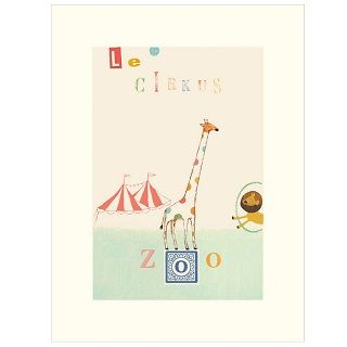 MAILEG CIRCUS GIRAFFE POSTER - $18.00 - This adorable and whimsical Maileg Poster adds the perfect finishing touch to your child's nursery, bedroom or playroom.   Dimensions: 40cm x 30cm #sweetcreations #kids #bedroom #nursery #playroom #decor #gifts #maileg #circus