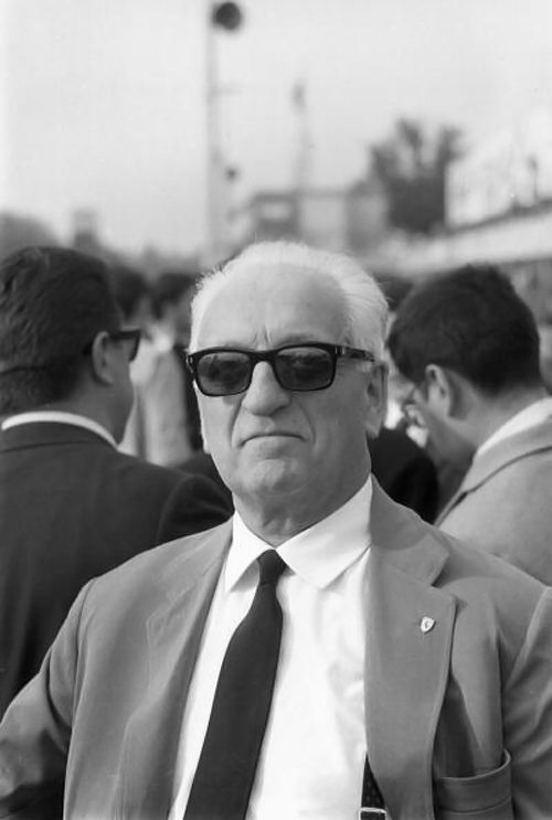 """Enzo Anselmo Ferrari (pronounced [ˈɛntso anˈsɛlmo ferˈrari]) (February 18, 1898[2] –born Modena Italy, August 14, 1988) Cavaliere di Gran Croce OMRI[3] was an Italian motor racing driver and entrepreneur, the founder of the Scuderia Ferrari Grand Prix motor racing team, and subsequently of the Ferrari automobile marque. He was often referred to as """"il Commendatore"""" or """"il Drake""""."""