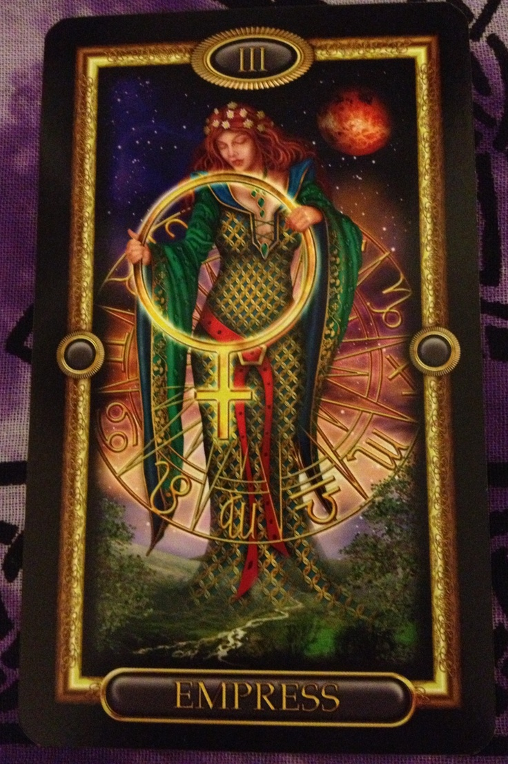 17 Best Images About The Empress (Tarot Card) On Pinterest