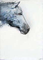 horseArt Horses, Flags Trends, Calm Room, Solid Frogs, Hors Profile, Horses Ahhhhh, Off Off, Hors Painting, Hors Watercolour Art