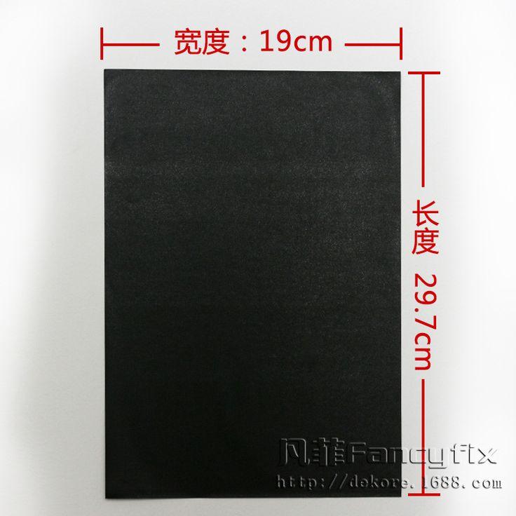20*30 cm פלייט הערה Creative מיני נשלף ניתן לעשות שימוש חוזר למחוק גור נייר הודעה שחורה