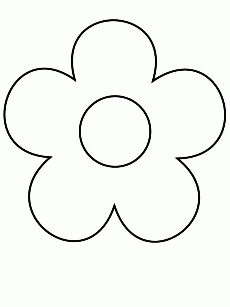 Simple Line Drawing Of Flower : The best flower drawing for kids ideas on pinterest