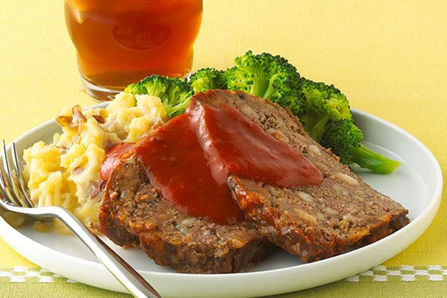 There's a reason it's a classic! It's a meatloaf the whole family will love—and if you're busy, you'll love it, too. (Prep time: 15 minutes.)