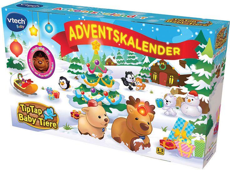 VTech Adventskalender, »Tip Tap Baby Tiere« Jetzt bestellen unter: https://moebel.ladendirekt.de/weihnachten/weihnachtsdeko/?uid=a4046a61-9d7f-5922-b52e-8e3812d066c6&utm_source=pinterest&utm_medium=pin&utm_campaign=boards #weihnachten #weihnachtsdeko #basic
