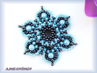 461 best tutorials beaded pendants images on pinterest bead beaded pendant tutorial aloadofball Image collections