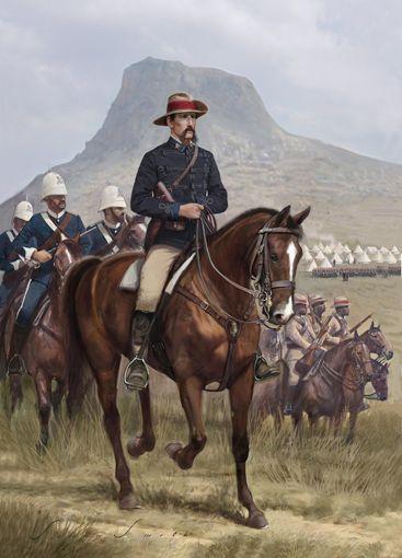 Brevet Colonel  A.W.l Durnford , Isandlewana 1879