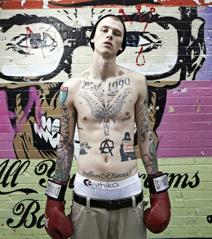 machine gun kelly tattoos - photo #14