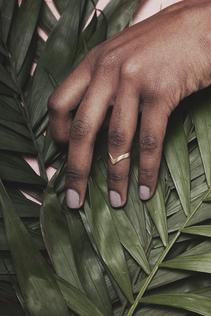 """Bague de Phalange chevron """"Little Indian"""" http://naminoe.fr/fr/bagues/114-bague-de-phalange-little-indian.html Naminoe"""