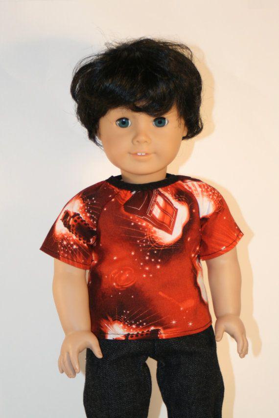 18 inch Boy Doll Clothes American Doll Boy by DaffodilDollClothes