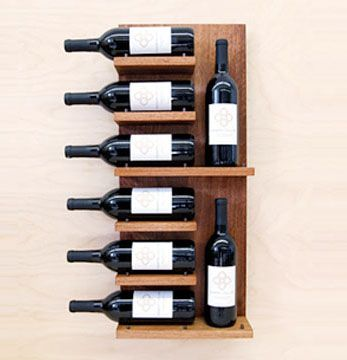 Wall Wine Shelves Top 25 Best Wood Wine Racks Ideas On Pinterest  Wall Mounted