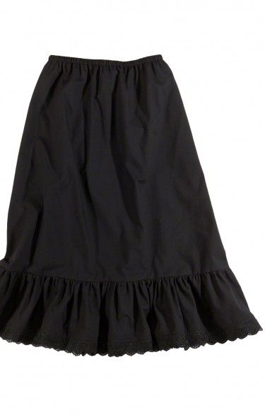 German traditional short underskirt U15 black