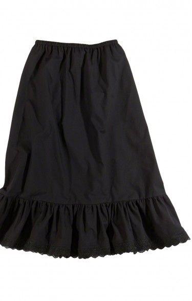 German traditional short underskirt U15 black