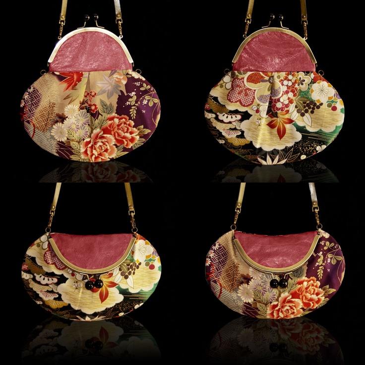 Modelo FOUR YOU LEATHER de IRUI.  Combinado telas japonesas-piel y 100% handmade.