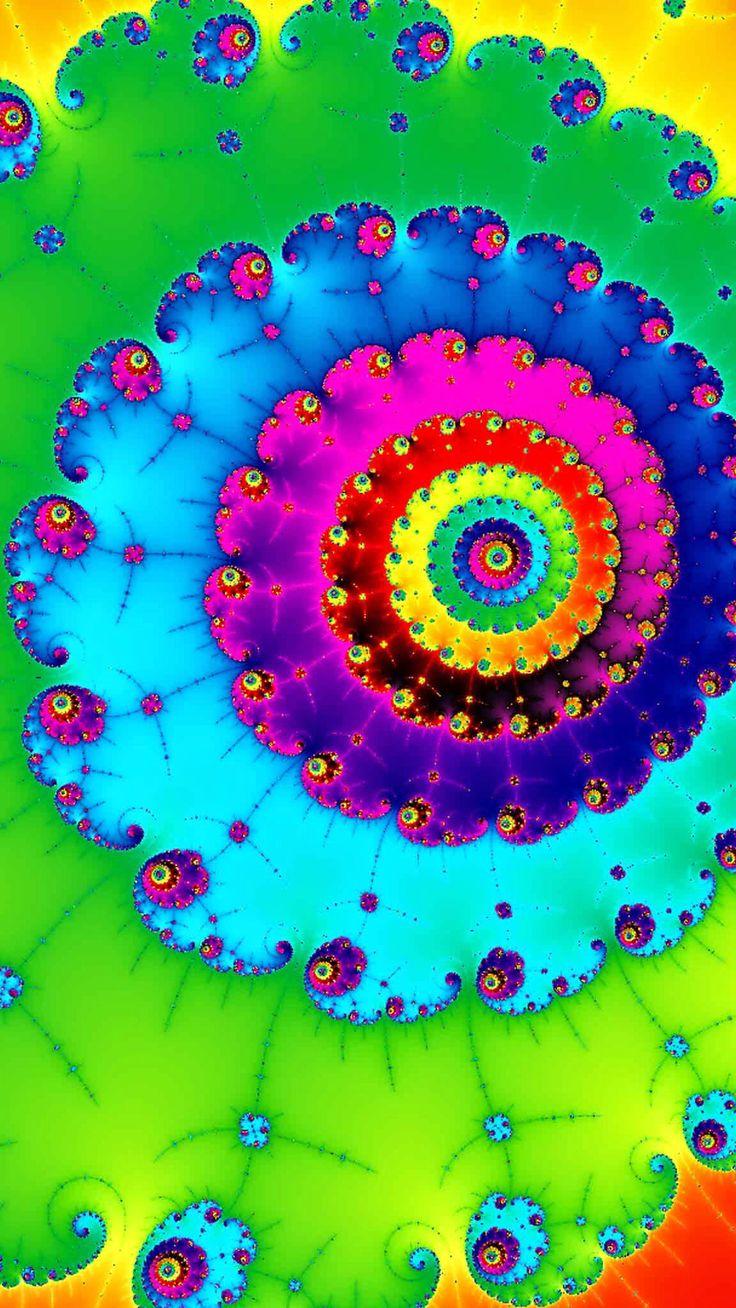Color art mandala wonders - Fractal Patterns Color Art Vibrant Colors Art Work Fractals Mandalas
