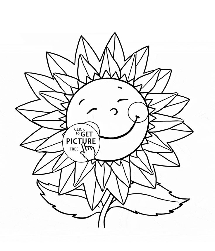 29 best Flowers coloring pages