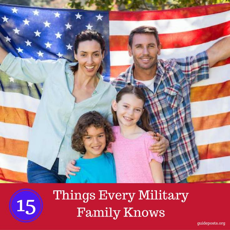 15 Things Every Military Family Knows From knowing how much to stuff in a flat rate box to rattling off military time...