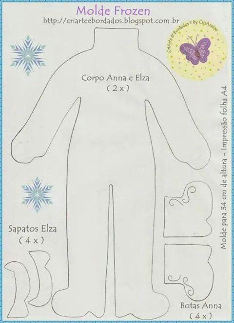 .Frozen - corpos Ana e Elza