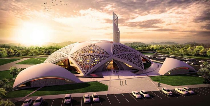 Absolutely stunning design, Hamdan bin Zayd mosque proposal by Dewan Architects