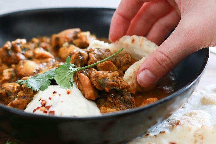 Fragrant chicken curry www.amandainthekitchen.com
