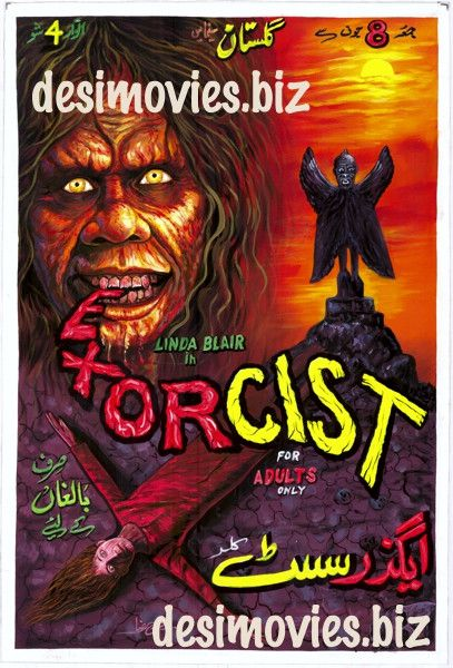 Exorcist, The (1973) Hand Painted Original Cinema Poster (a)