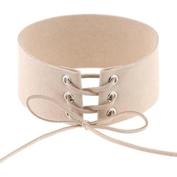 All Tied Up Choker ($22) ❤ liked on Polyvore featuring jewelry, necklaces, tie chokers, choker necklace, tie jewelry, choker jewelry and tie necklace