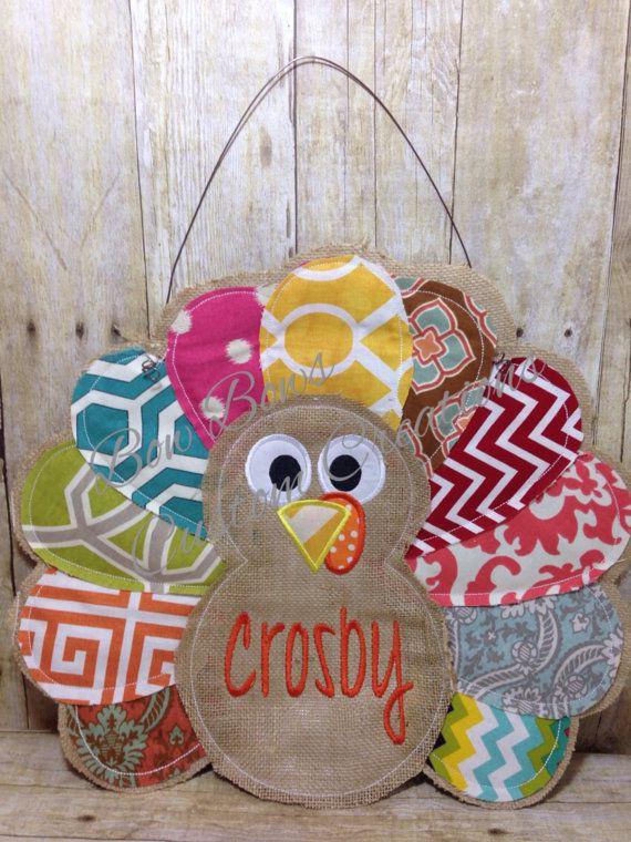 Attractive Best Door Hangers Images On Burlap Door Hangers