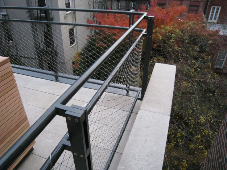 Best 25 Best Woven Wire Metal Railing Examples Images On 640 x 480